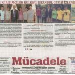 Liseli Girişimciler Kulübü Siirt Ekibi Gezisi Yerel Gazetelerde Haber Oldu !